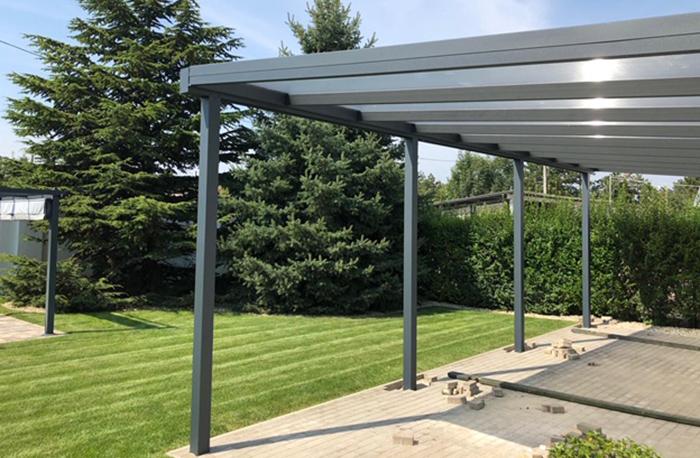 Carport Anbau Aluminium