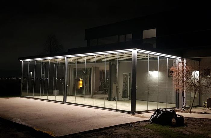 Gartenzimmer Glas