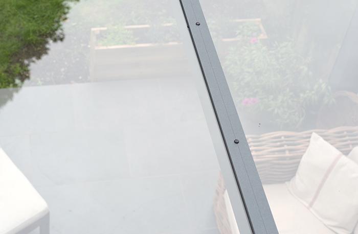 Carport Dacheindeckung VSG