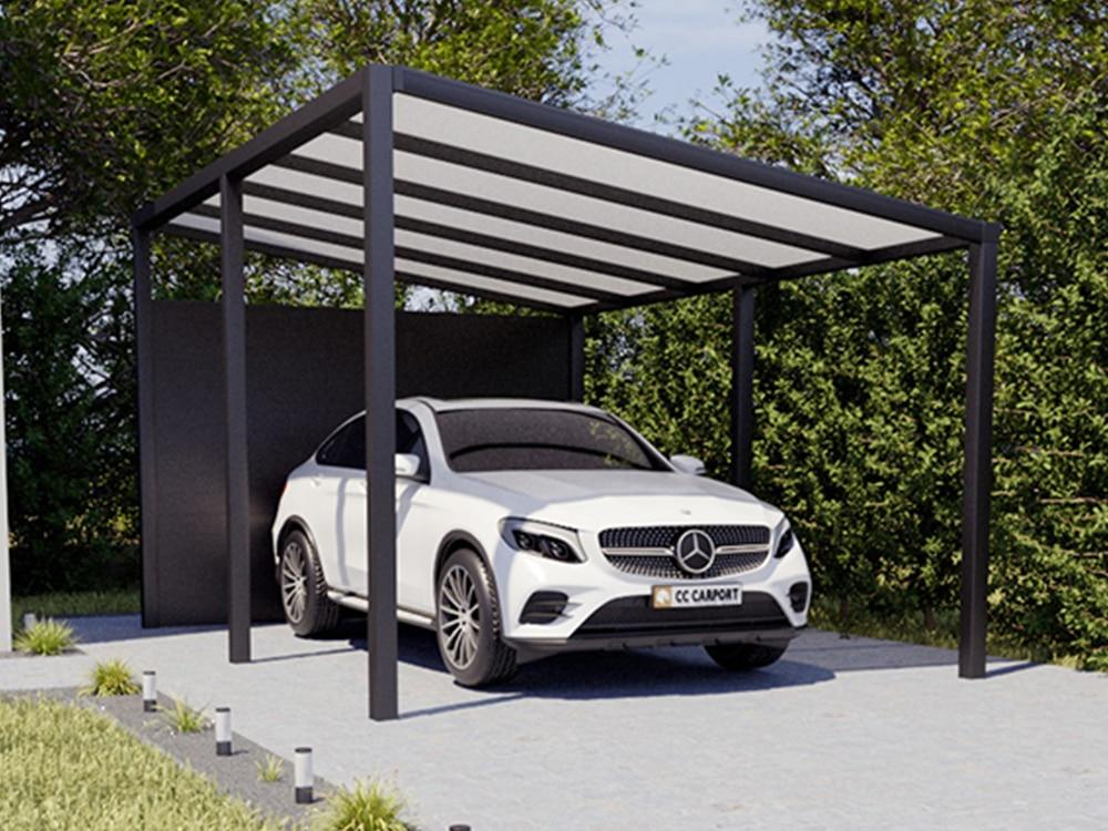 Aluminium Carport freistehend
