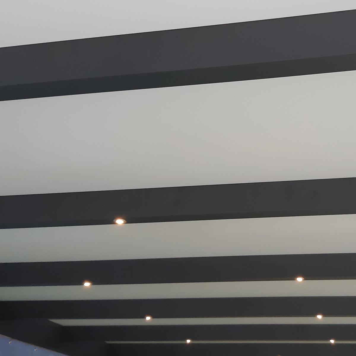 Terrassenüberdachung LED Set