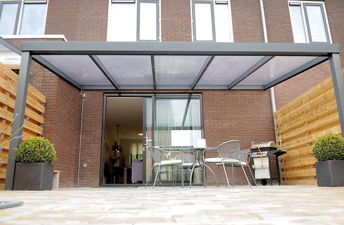 Terrassenüberdachung Polycarbonat